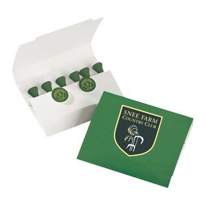 Premium Basics Golf Tees and Ball Marker Set