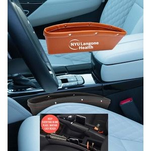 iBank(R) Leatherette Car Organizer (Brown)